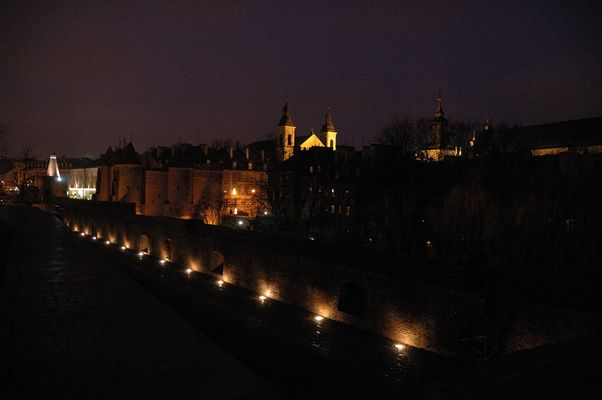 Wehrmauern der Altstadt in Warschau