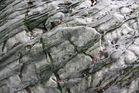 weiche Felsenstrukturen