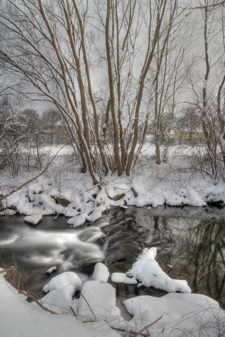 Weiches Wasser im Winter