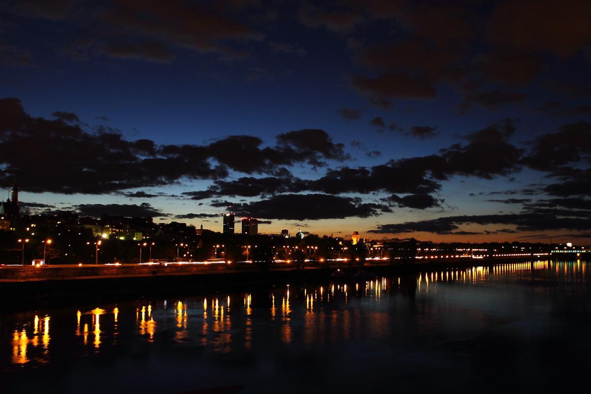 Weichsel bei Nacht