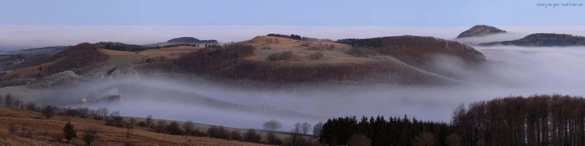 Weihersberg - Milseburg - Panorama