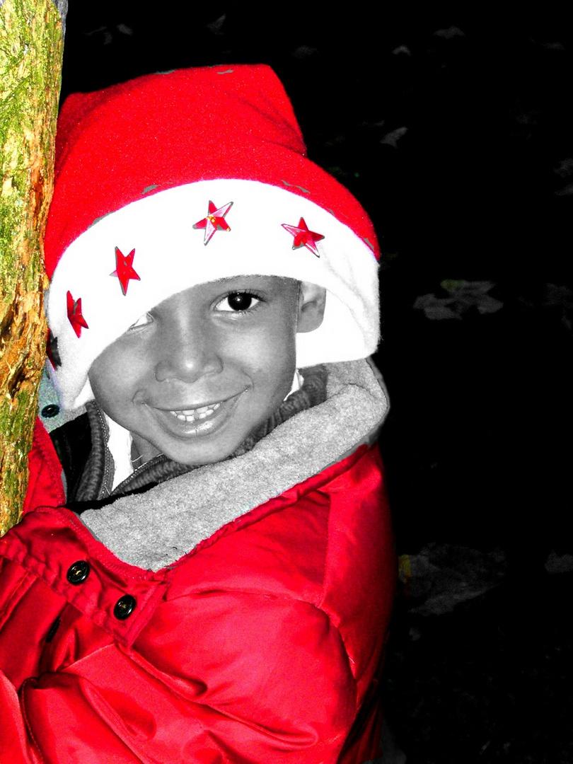Weihnachsgrüße mit Colorkey Foto & Bild | kinder, kinder im ...