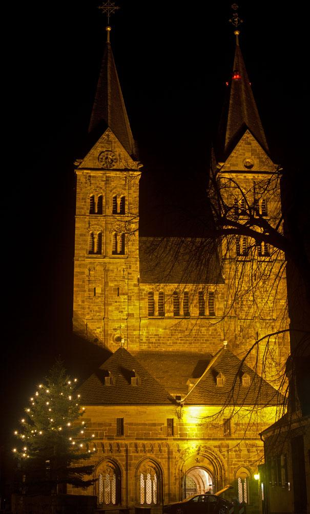 Weihnachststimmung am Fritzlarer Dom