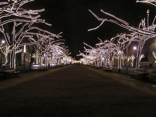 Weihnacht unter den Linden in Berlin 2008