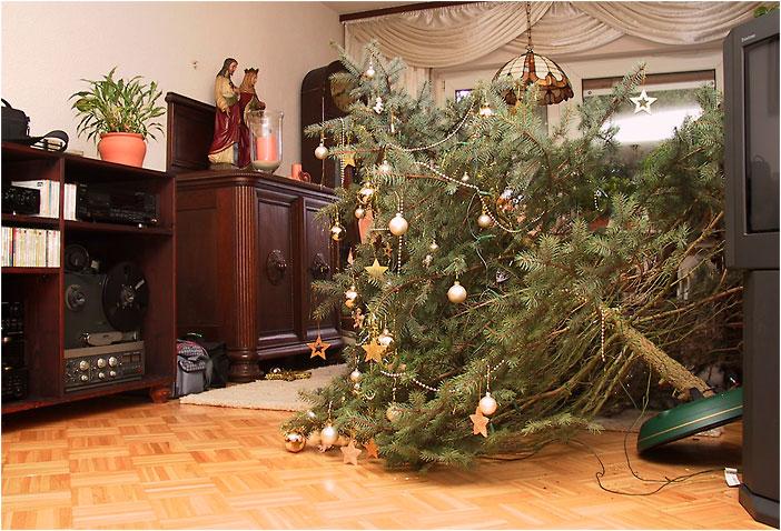"""Weihnachten 2002 .... oder """"Deutsche Gemütlichkeit"""" ..."""