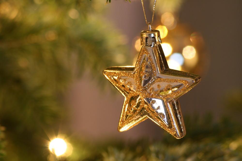 Weihnachten 2008 - Stern