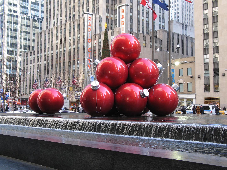 Weihnachten 2009 in New York