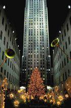 Weihnachten am Rockefeller Centre