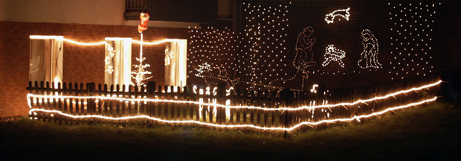 Weihnachten im Hinterhof