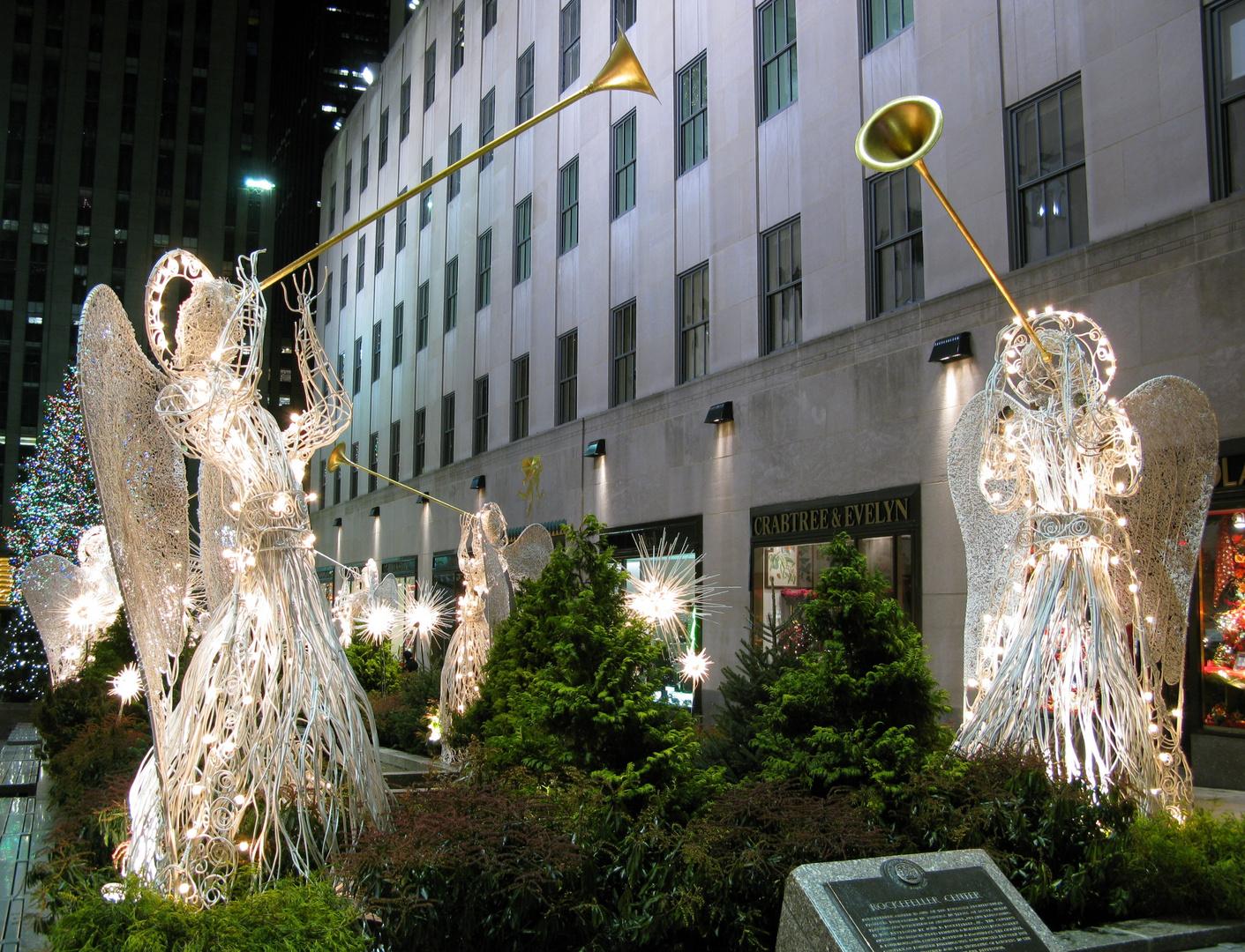 Weihnachten im Rockefeller Center 2009 - 1