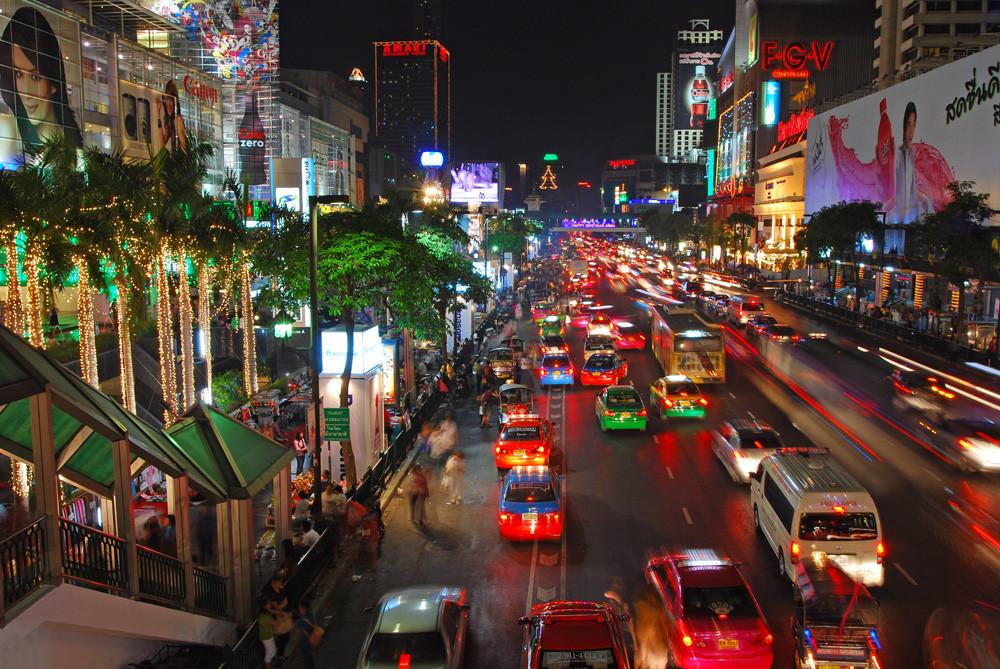 weihnachten in bangkok foto bild asia thailand. Black Bedroom Furniture Sets. Home Design Ideas