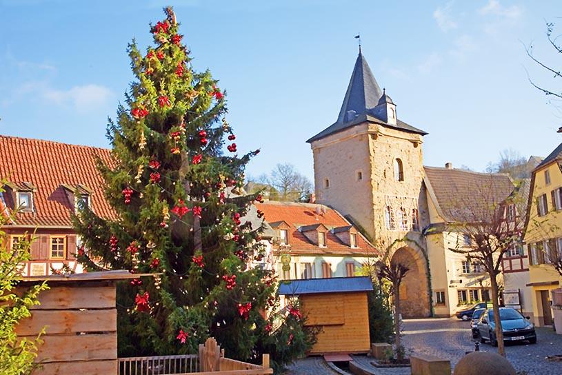 Weihnachten in einer Kleinstadt (Meisenheim)