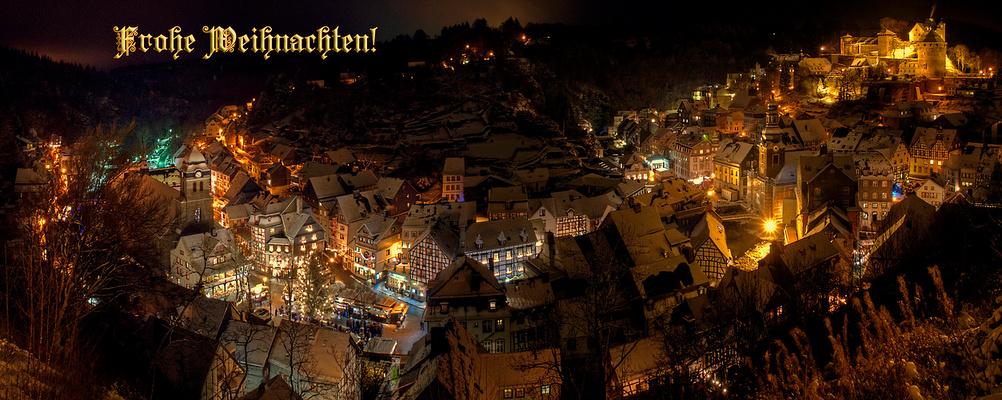 Weihnachten in Monschau