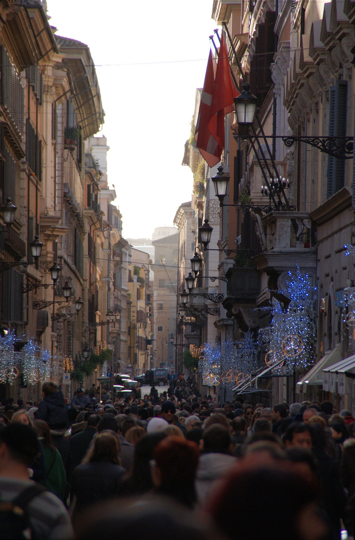 Weihnachten in Rom (4) - Kaufrausch
