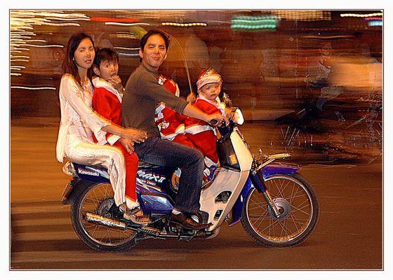 Weihnachten in Saigon...