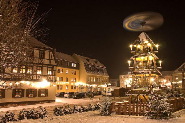 Weihnachten in Zwönitz
