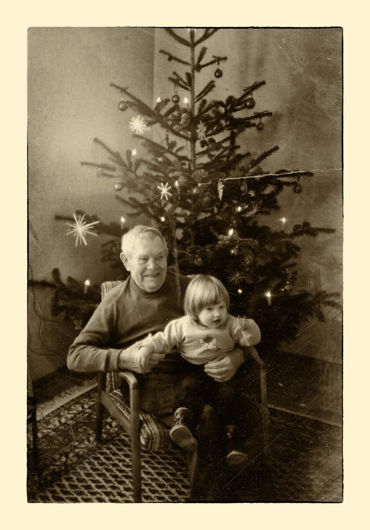 Weihnachten mit Urenkel