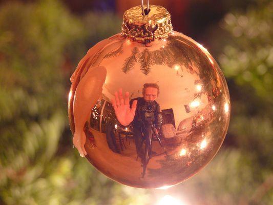 Weihnachten-Selbstbildnis