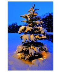 Weihnachten und Schnee - so soll es sein :-)