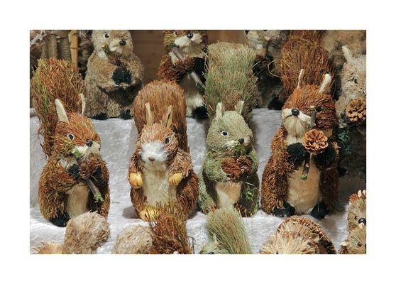 weihnachtliche FC-Hörnchen