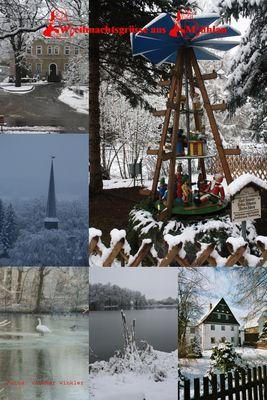 Weihnachtliche Grüße aus Mühlau...