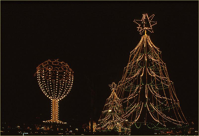 Weihnachtliche Illumination