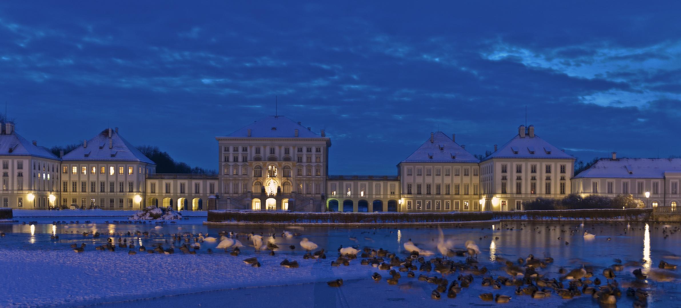 Weihnachtliche Impressionen aus Schloß Nymphenburg 3