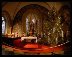 Weihnachtliche Schlosskapelle