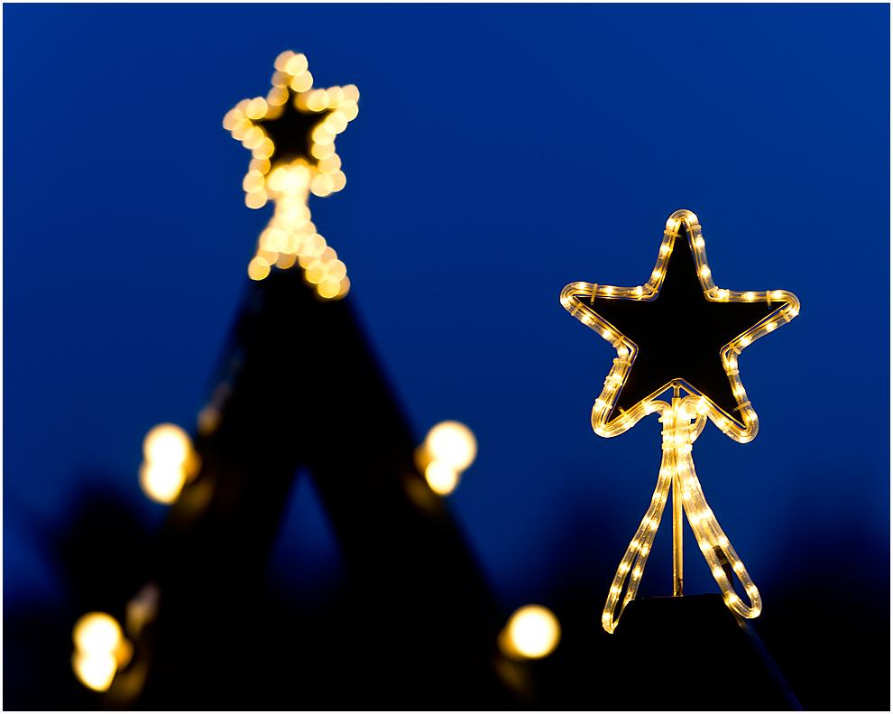 weihnachtliche sterne foto bild gratulation und. Black Bedroom Furniture Sets. Home Design Ideas
