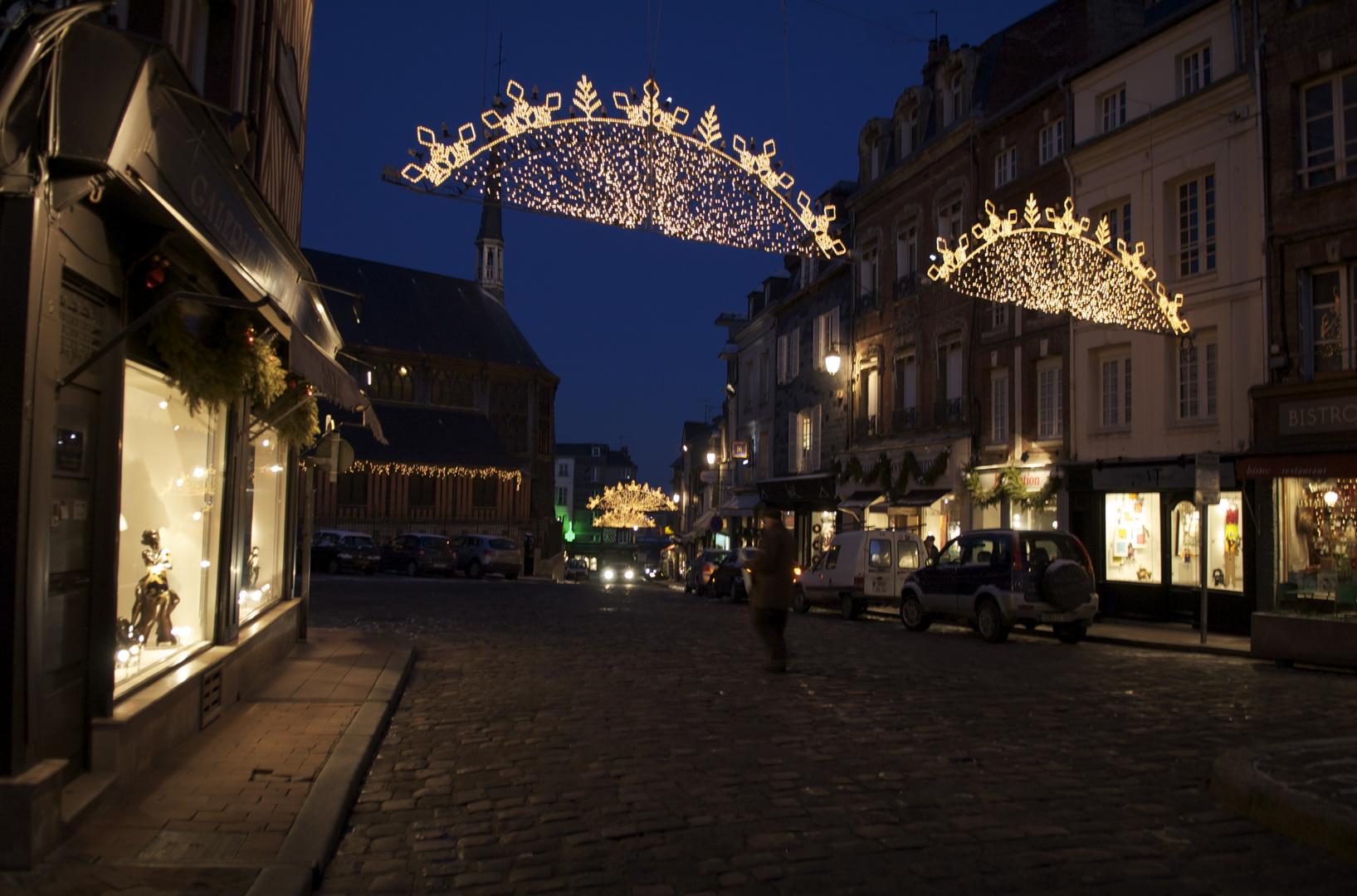 Weihnachtliche Stimmung in Honfleur 2009