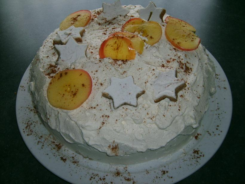 weihnachtliche Zimt*stern*torte
