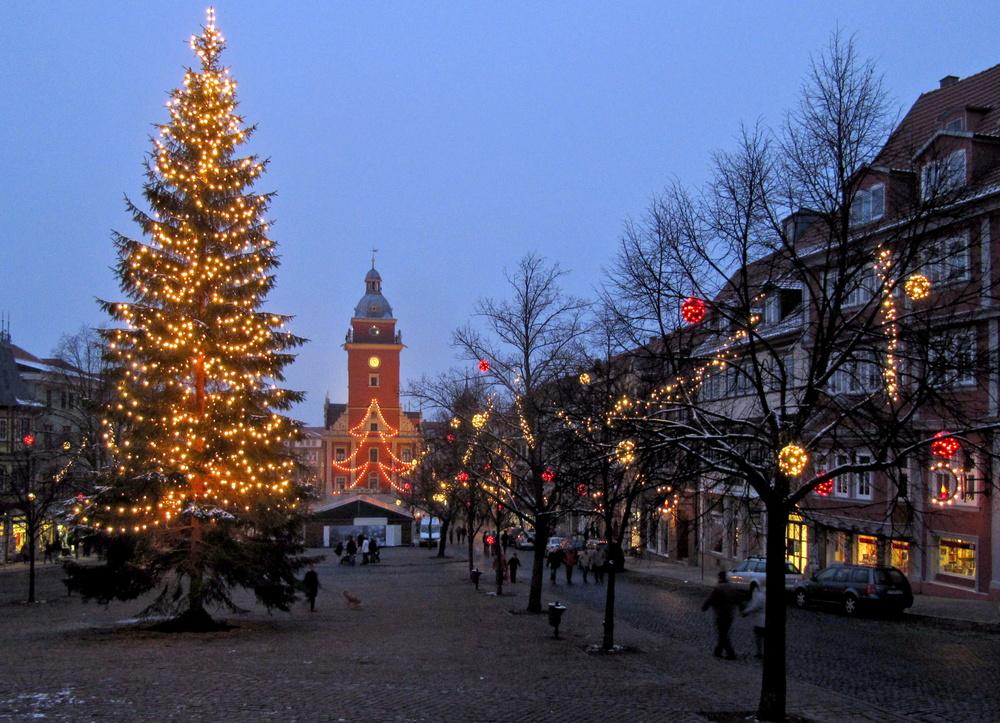Weihnachtlicher Hauptmarkt