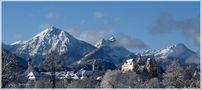 Weihnachtlicher Spaziergang nach Füssen - gestern morgen von Mara-Felicita