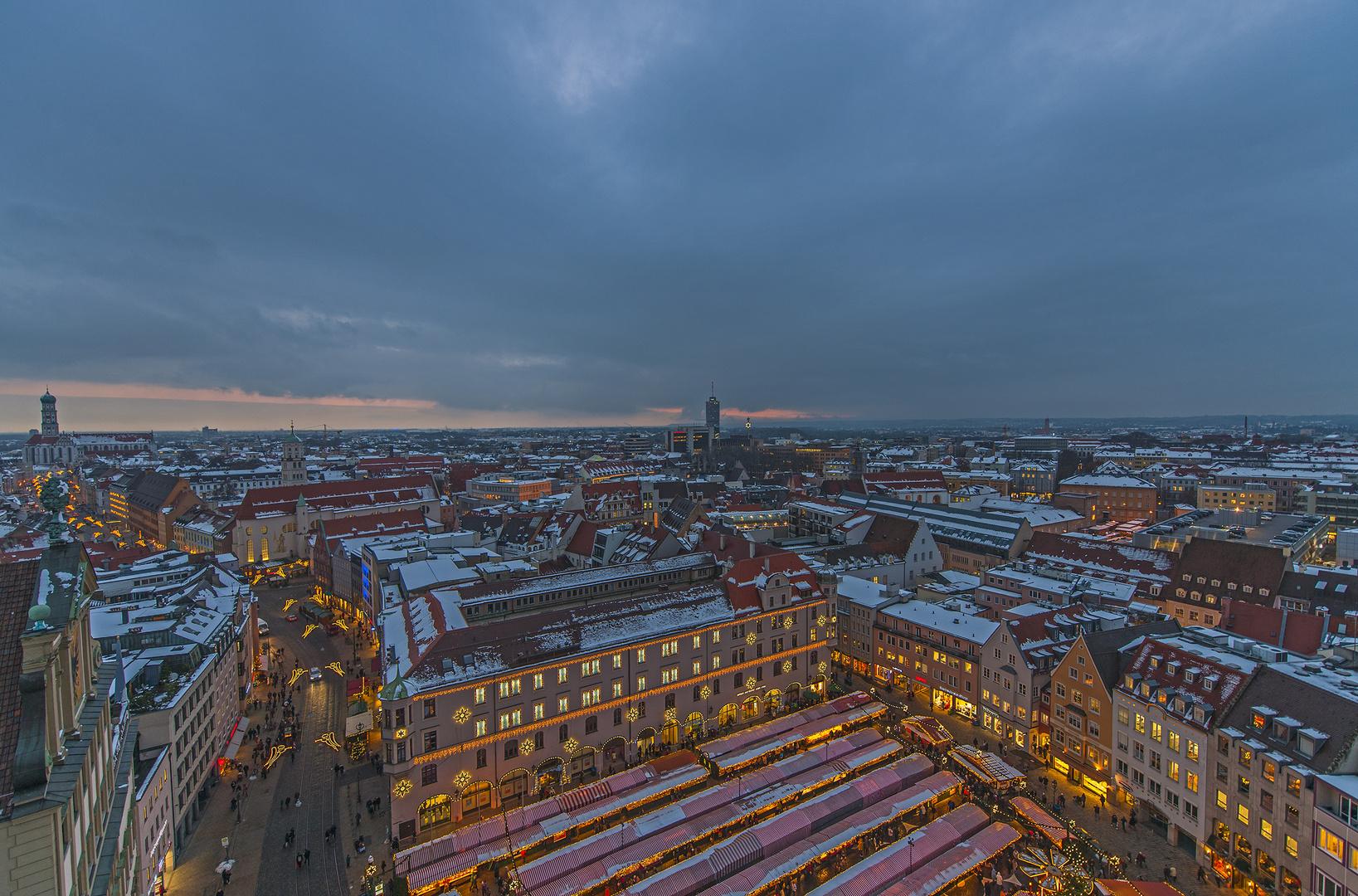 Weihnachtliches Augsburg