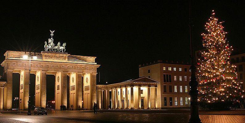 Weihnachtliches Brandenburger Tor