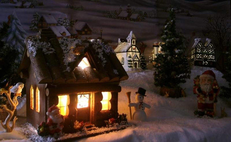 weihnachtliches dorf foto bild experimente spezial. Black Bedroom Furniture Sets. Home Design Ideas