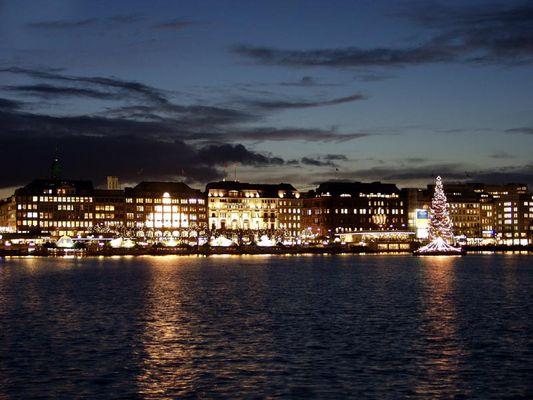 Weihnachtliches Hamburg