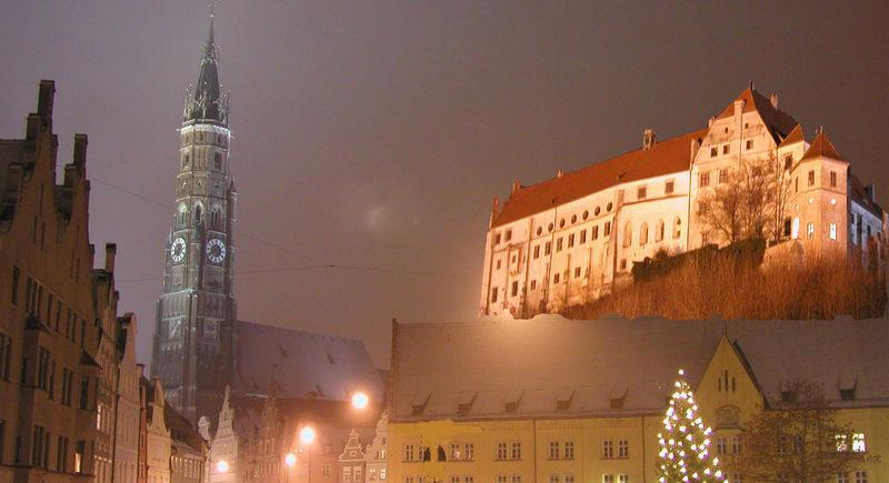 Weihnachtliches Landshut