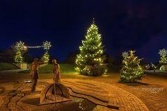 Weihnachtliches St. Peter-Dorf
