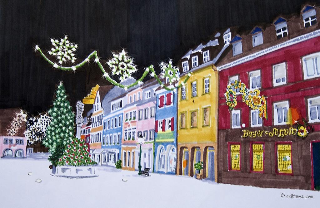 weihnachtliches waldkirch foto bild kunstfotografie. Black Bedroom Furniture Sets. Home Design Ideas