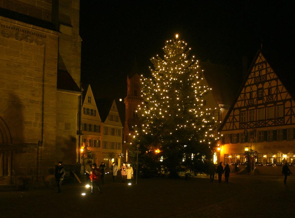 Weihnachtlichtes Dinkelsbühl