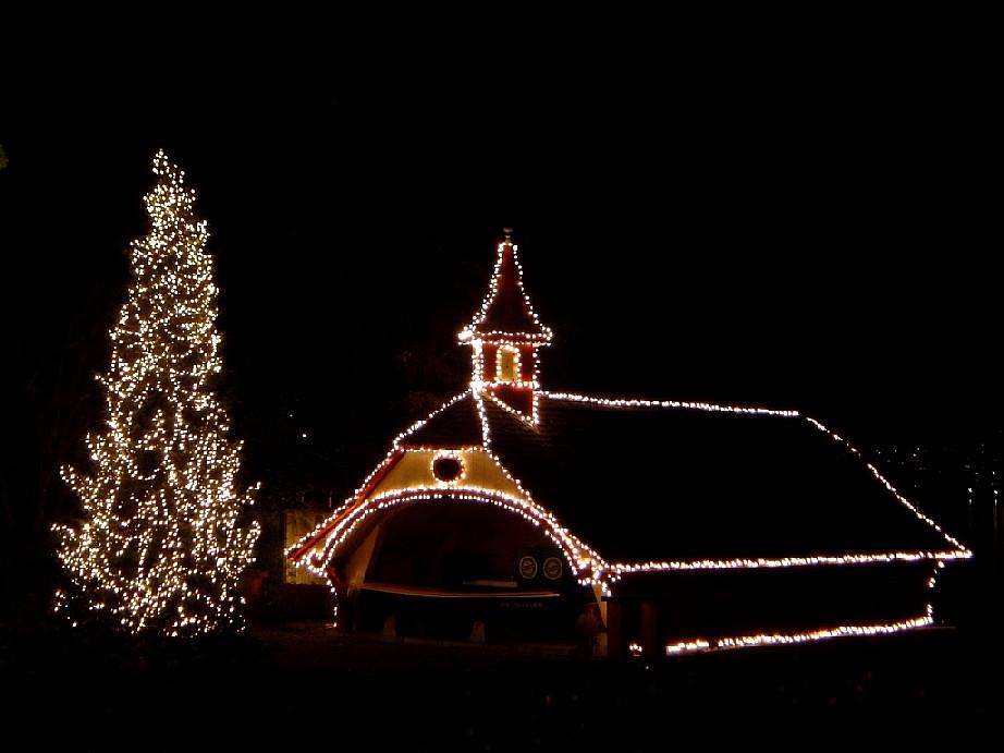 weihnachts beleuchtung bild foto von franz x aus. Black Bedroom Furniture Sets. Home Design Ideas