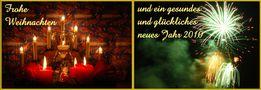 Weihnachts- und Neujahrswünsche von Walter Traub