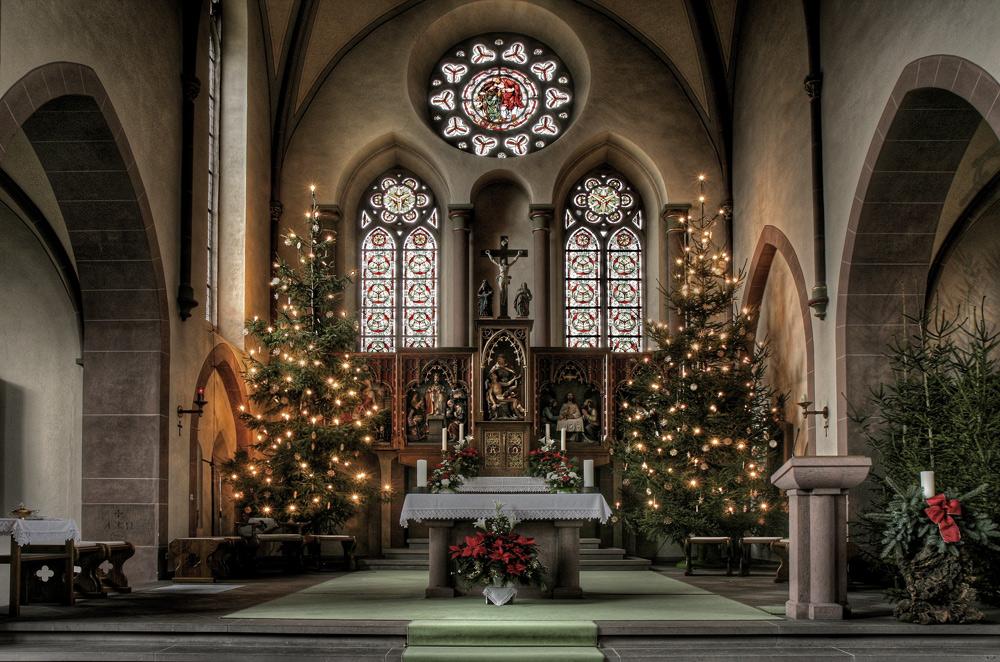 Weihnachtsaltar St. Martin Netphen / Nostalgie