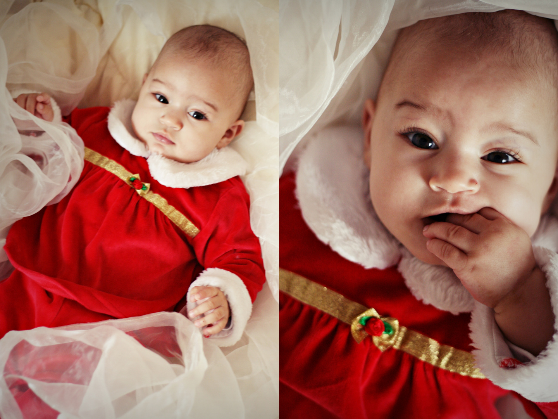 Weihnachtsbaby
