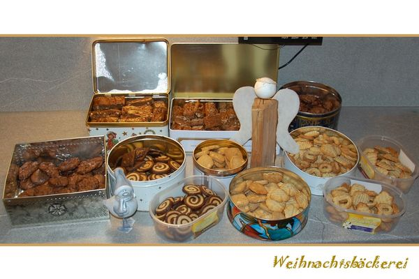 Weihnachtsbäckerei....