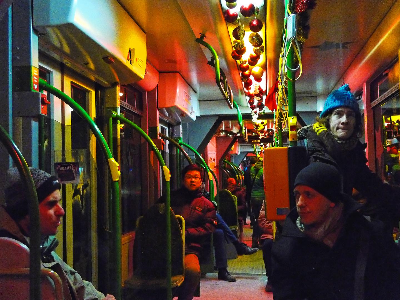 Weihnachtsbahn in Augsburg