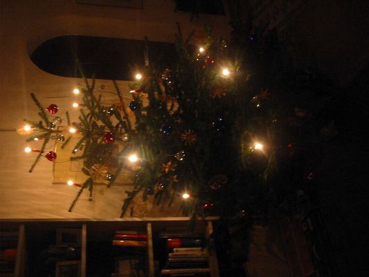 Weihnachtsbaum Dez 2004 ohne Blitz