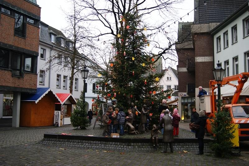 Weihnachtsbaumschmücken für Kempener Weihnachten