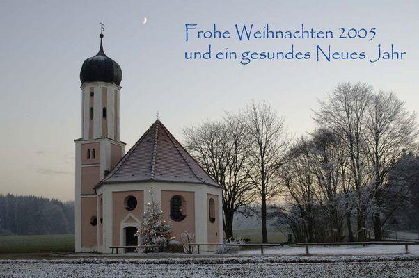 Weihnachtsgrüsse 2005 von Hans&Helen...